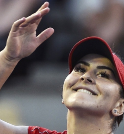 Congratulations to Bianca Andreescu Right Hand