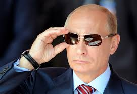 Putin dark glasses